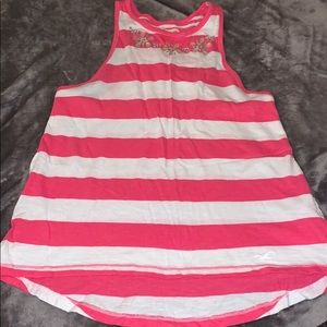 NWOT Hollister rhinestone striped tank